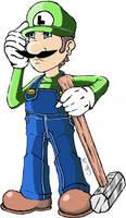 Republic Luigi of the Mush Kin by xacuchina