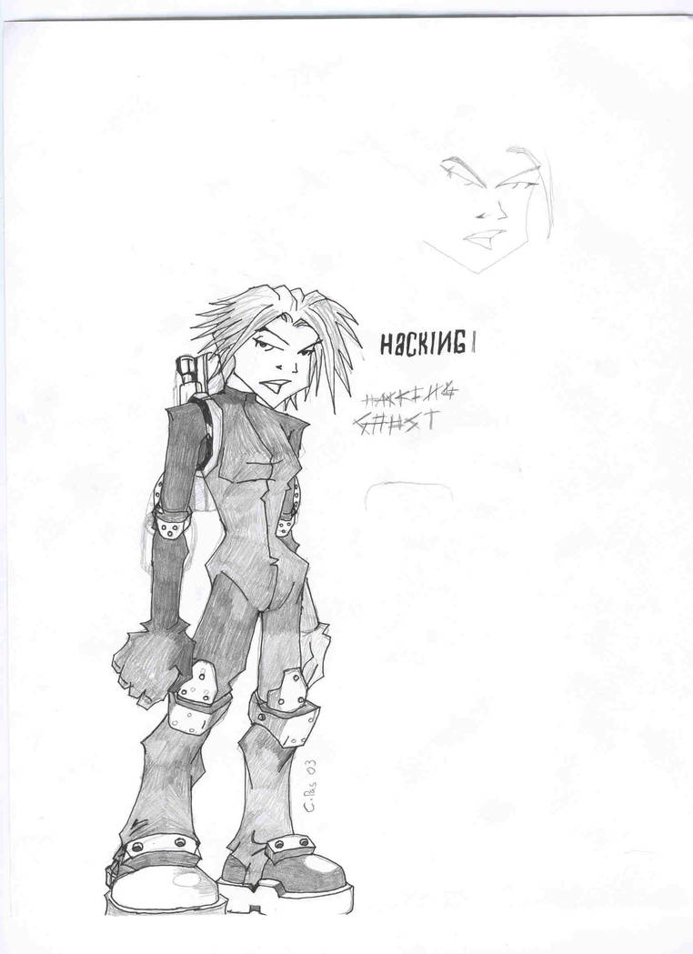 SPUD HACKING GHOST2 by xacuchina