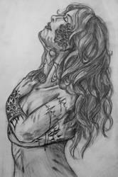 Let go sketch by Cakecatlady