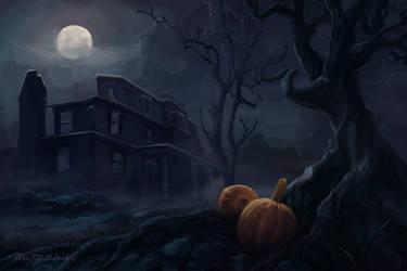 Teen Wolf. Halloween in Hale House by Alex-JD-Black