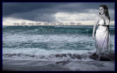 Nymph of the Sea by ilinamorato