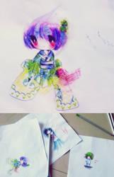 color practice and OMG it's sooooo ugly by blossomlikereadbook