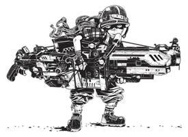 Gunboy by IamAxiom