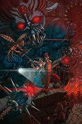 CONTRA 3 - THE ALIEN WARS FANART by IamAxiom