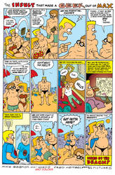The Insult that made a Geek out of Max comic by mikegagnon