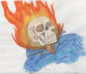 Johnny Blaze by mikegagnon
