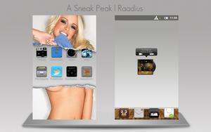 A Sneak Peak by Raadius