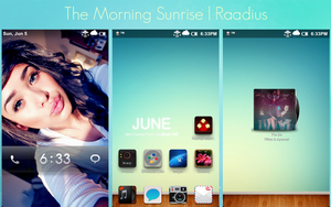 The Morning Sunrise by Raadius