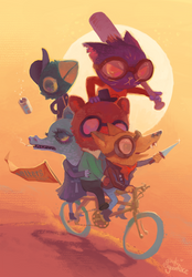 Night in the Woods by gawki