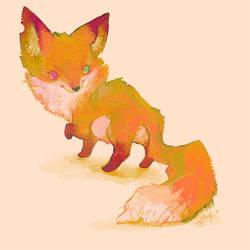 Fox Doodle by gawki