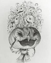 Pumpkin head by gawki