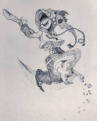 Grin Reaper  by gawki