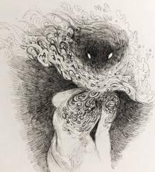A Hidden Face by gawki