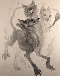 Hell Hound by gawki