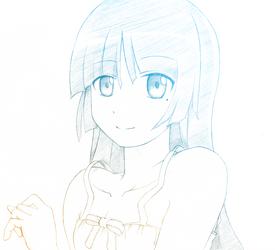 Sketch 10 - Kuroneko by wisewolfart