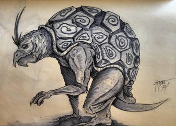 Turtle Concept by shroomstone