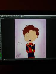 Precious Boy(Drawing tablet test) by jillian18