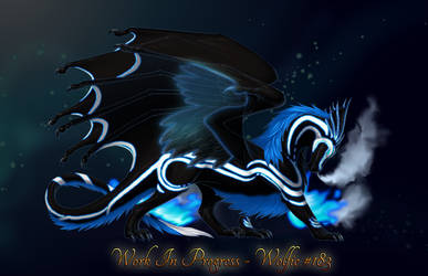 Mana Flow Western Dragon Feathered by WvWolfAngel