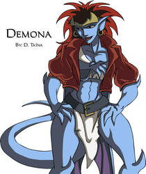 Victorious Demona by DTaina