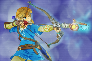 Breath of the Wild : Link : by asentinel