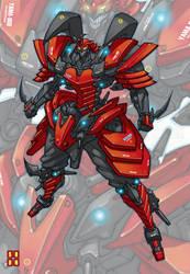 Mobile Suit YAMA-008 by Shun-008