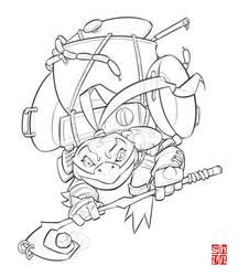 Frog Ninja_01 by Shun-008