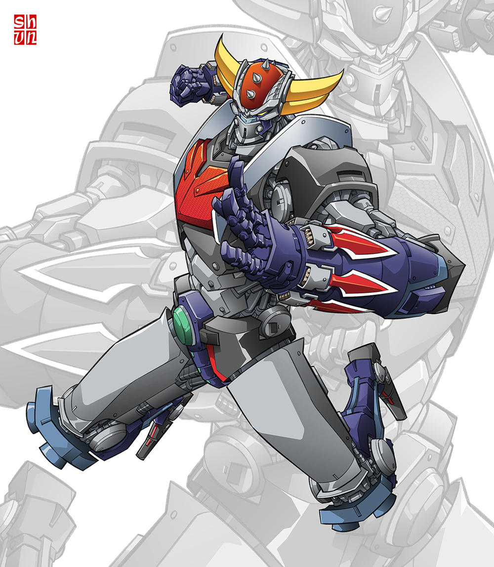 Grendizer by Shun-008
