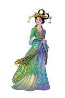 SMITE Chang' E by BehindtheVeil