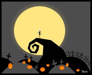 The Pumpkin King by PenguinFreakSH