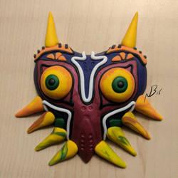 Majora's Mask Sculpture by Kanyon85