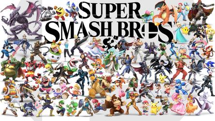 Smash Bros Ultimate Lineup (November) by Kanyon85