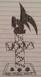 When Angels Weep by FaerieKitteh