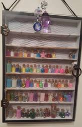 Vials Cabinet by FaerieKitteh