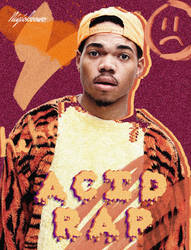 Chance the rapper by 123zion456