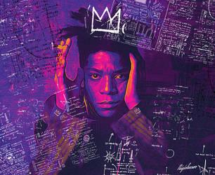 Jean Michel Basquiat by 123zion456