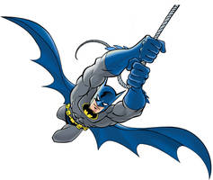 BATMAN, the Dark Knight by LostonWallace