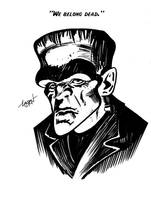 Frankenstein's Monster by LostonWallace