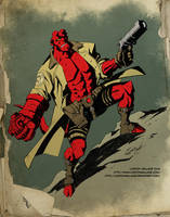 Hellboy Colors by LostonWallace
