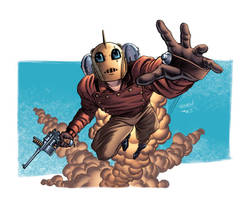 Classic ROCKETEER by LostonWallace