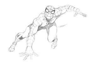 Spider-Man Pencils by LostonWallace