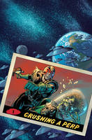 MARS ATTACKS JUDGE DREDD Cover Colors by LostonWallace