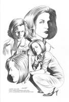 X-FILES: AGENT SCULLY by LostonWallace