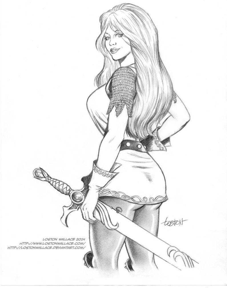 Britta by LostonWallace