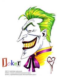 Joker Marker Sketch by LostonWallace