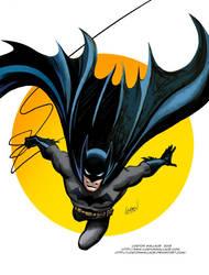 Batman at Sundown by LostonWallace