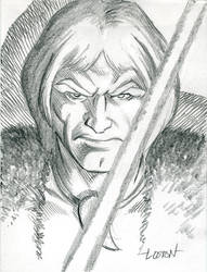 Thundarr Sketch by LostonWallace