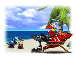 Eggman - 'Yosh'-Island by Kojichan