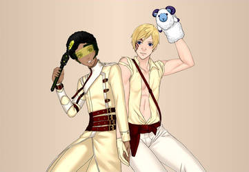 Terence Michaels and Felix Cruz by ThePinkWater