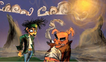 Beyond Good And Evil by DaveTheSodaGuy