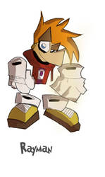 Rayman 2 Characters Solo Pics (The game man) by DaveTheSodaGuy